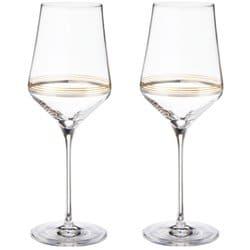 ラインズゴールド&プラチナ ワイン ペア(2脚セット)