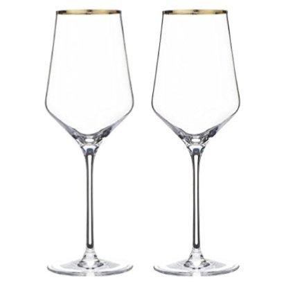 エッジライン ゴールド ワイン ペア(2脚セット)