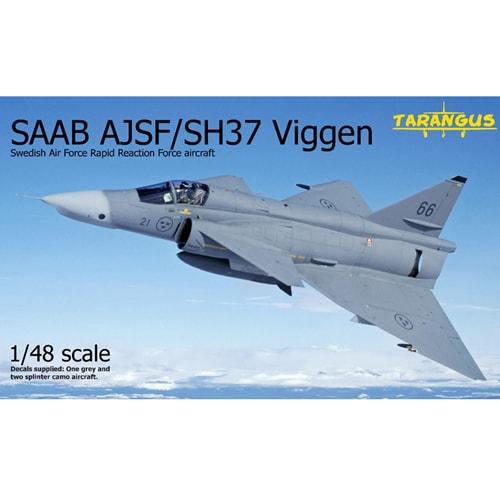 TGSTA4808 [サーブ AJSF/SH37 ビゲン 緊急対応部隊 1/48 エアクラフトシリーズ]
