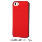 IN-P17CP1/R [iPhone SE/5s/5 TPUソフトケース Colorap レッド]