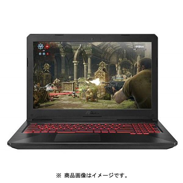 FX504GD-I5G1050 [ゲーミングノートパソコン 15.6型/Core i5-8300H/GTX 1050/メモリ8GB/SSD 128GB(NVMe)+HDD 1TB/ ビデオメモリ2GB/ 802.11ac / BT4.1/ Windows 10 Home 64bit/英語キーボード (イルミネートキーボード)/ブラック]