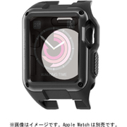 AW-38ZEROBK [Apple Watch 38mm用 ZEROSHOCKケース ブラック]