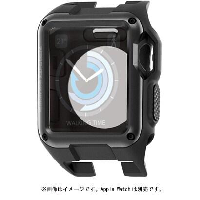 AW-42ZEROBK [Apple Watch 42mm用 ZEROSHOCKケース ブラック]