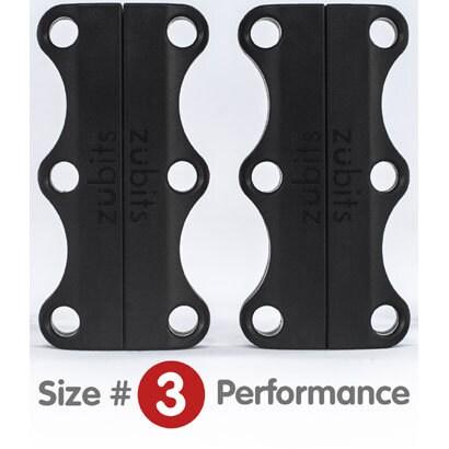 ZU3BLK [Zubits Size3 Black 46mm シューズクローザー]