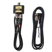 FZ-B2C79 [アンテナ分波器 4K8K放送対応 出力ケーブル一体型0.5m ブラック 入力ケーブル1.5m付]
