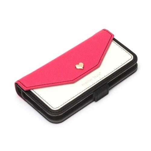 PG-18EFP15PK [iPhone SE/iPhone 5s/iPhone 5用 ダブルフリップカバー スクエア型ポケット ピンク]