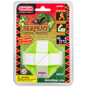 スネークパズル サーペント グリーン×ホワイト