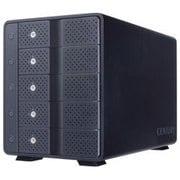 CRCM535U31CIS [裸族のカプセルマンション 独立電源スイッチ USBハブ機能搭載 USB3.1 Gen.2 3.5インチSATA×5 HDDケース]