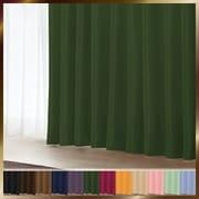 アラカルト 1級遮光カーテン リーフグリーン 幅150×丈135cm 1枚入り