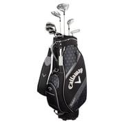 Solaire レディス ゴルフクラブ8本セット[ドライバー/フェアウェイウッド(#5)/ユーティリティー(#6)/アイアン(#7・#9・PW・SW)/パター] キャディバッグ色・ブラック 2018年モデル [ゴルフクラブセット]