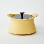 best pot 16cm マスタードイエロー [土鍋]