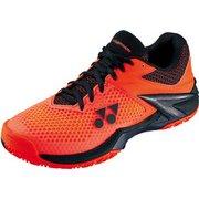 SHTE2MAC パワークッション エクリプション 2 M AC オレンジ/ブラック 27.5cm [テニスシューズ(オールコート用) 男女兼用]
