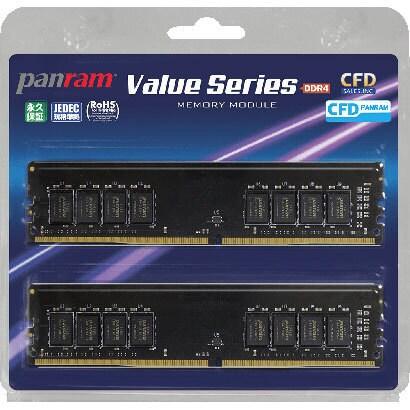 W4U2666PS-4GC19 [デスクトップ用メモリ Panram DDR4-2666 288pin DIMM 4GB 2枚組]