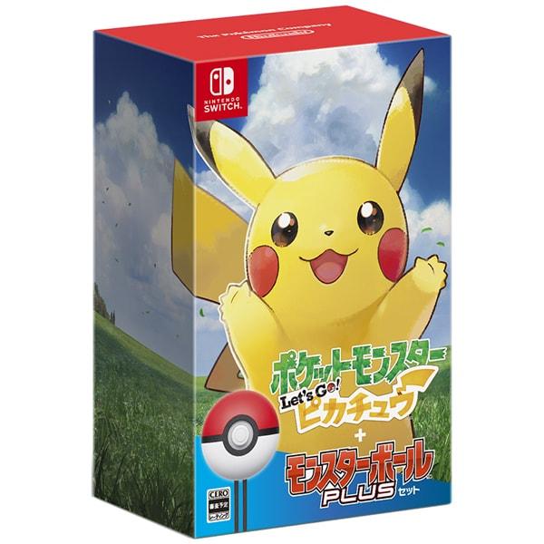 ポケットモンスター Let's Go! ピカチュウ ボール セット [Nintendo Switchソフト]