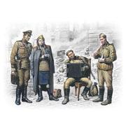 35541 ソビエト兵 兵士3体&女性1体 ベルリン 1945年5月 [1/35スケール プラモデル]