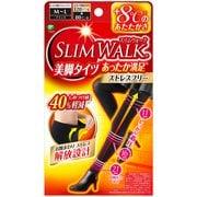 ピップ スリムウォーク SLIMWALK 美脚タイツあったか満足 M~Lサイズ ブラック おそと用 [タイツ]