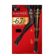ピップ スリムウォーク SLIMWALK サイズダウンシアータイツ M~Lサイズ ブラック [タイツ]