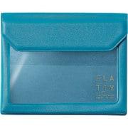 5356 水色 [FLATTY(フラッティ) スタンダード バッグインバッグ カードサイズ 115×94×18mm]