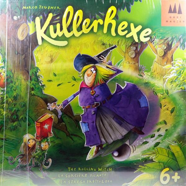 ローリングウィッチ Kullerhexe 外国語ゲーム(日本語訳ルール付) [ボードゲーム]