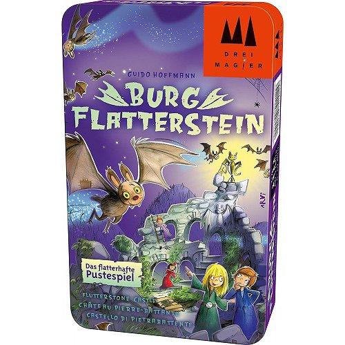 キャッスルフラッターストーン Burg Flatterstein 缶ケース 外国語ゲーム(日本語訳ルール付) [ボードゲーム]