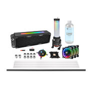 CL-W218-CU00SW-A [Pacific M360 Plus D5 Hard Tube RGB Water Cooling Kit]