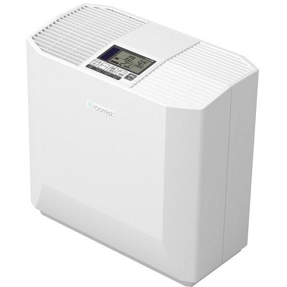 SHK50RR-W [roomist(ルーミスト) ハイブリッド式加湿器 木造8.5畳まで/プレハブ洋室14畳まで 加湿量500mL/h クリアホワイト]