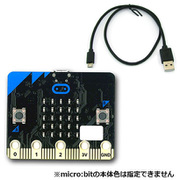 micro:bit+USB [プログラミング教育用マイコンボード]