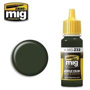 AMO-0232 RLM70 シュバルツグリュン(黒緑) [プラモデル用塗料]
