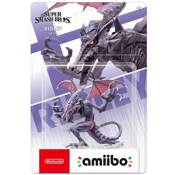 amiibo(アミーボ) リドリー (大乱闘スマッシュブラザーズシリーズ) [ゲーム連動キャラクターフィギュア]