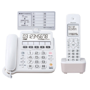 TF-SE16S(W) [コードレス留守番電話機 TF-SE16シリーズ 子機1個付き]