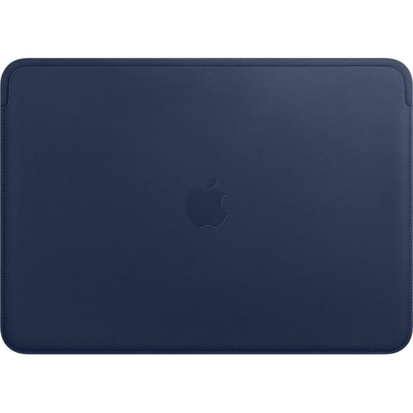 MRQL2FE/A [13インチMacBook Air/MacBook Pro用レザースリーブ ミッドナイトブルー]