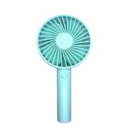 IQ-WI-FAN-BL [充電式 ワイド扇風機 ブルー]