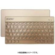 RM3291GD [Bluetoothキーボード ポータブルタイプ 日本語配列 ゴールド]