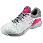 SHT103 062 パワークッション103 ホワイト/ピンク 23.0cm [テニスシューズ(クレー・砂入り人工芝コート用) 男女兼用]