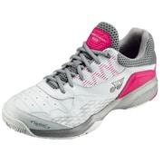 SHT103 062 パワークッション103 ホワイト/ピンク 25.0cm [テニスシューズ(クレー・砂入り人工芝コート用) 男女兼用]