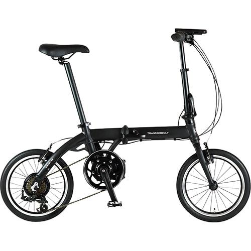ウルトラライト E-BIKE166E BK [折りたたみ電動アシスト自転車 16インチ(型) 外装6段変速 ブラック 2019年モデル]