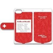 iPhone SE/5s/5 手帳型スマホケース はたらく細胞 SWEETOY D [キャラクターグッズ]