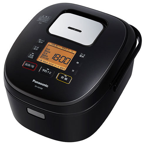 SR-HB108-K [IH炊飯器 5.5合炊き ブラック]