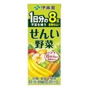 せんい野菜 紙200ml×24 [野菜・果汁ミックスジュース]