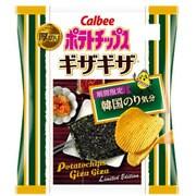 ポテトチップス ギザギザ 韓国のり気分 58g [スナック菓子]