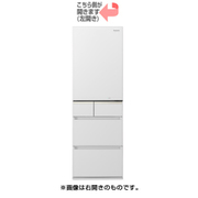 NR-E414GVL-W [微凍結パーシャル搭載冷蔵庫 (406L・左開き) 5ドア スノーホワイト]