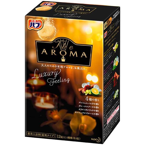 バブ The Aroma Luxury 12錠入 [入浴剤 錠剤タイプ]