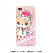 カワウソちぃたん グリッターケース iPhone 6 Plus / iPhone 6S Plus / iPhone 7 Plus / iPhone 8 Plus Heart Pink POP [キャラクターグッズ]