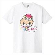 カワウソちぃたん Tシャツ POP ホワイト メンズ M [キャラクターグッズ]
