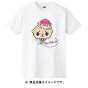 カワウソちぃたん Tシャツ POP ホワイト レディース 150cm [キャラクターグッズ]