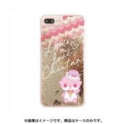 カワウソちぃたん グリッターケース iPhone 6 / iPhone 6S / iPhone 7 / iPhone 8 Ball Gold CUTE [キャラクターグッズ]