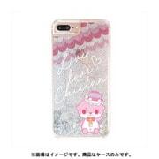 カワウソちぃたん グリッターケース iPhone 6 / iPhone 6S / iPhone 7 / iPhone 8 Star Silver CUTE [キャラクターグッズ]
