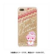 カワウソちぃたん グリッターケース iPhone 6 Plus / iPhone 6S Plus / iPhone 7 Plus / iPhone 8 Plus Star Gold CUTE [キャラクターグッズ]