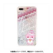 カワウソちぃたん グリッターケース iPhone 6 Plus / iPhone 6S Plus / iPhone 7 Plus / iPhone 8 Plus Star Silver CUTE [キャラクターグッズ]