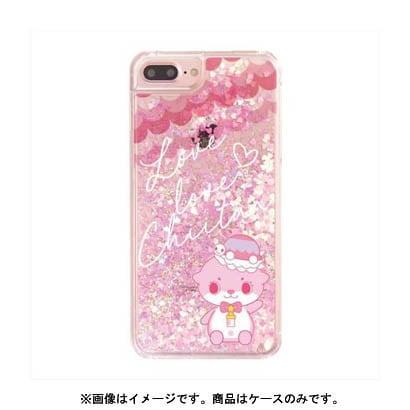 カワウソちぃたん グリッターケース iPhone X Heart Pink CUTE [キャラクターグッズ]